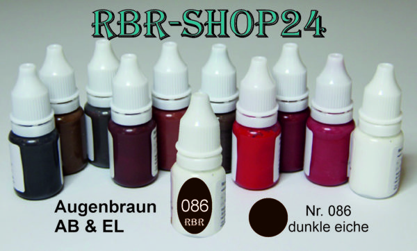 Dunkle Eiche / Permanent Make-up Farbe